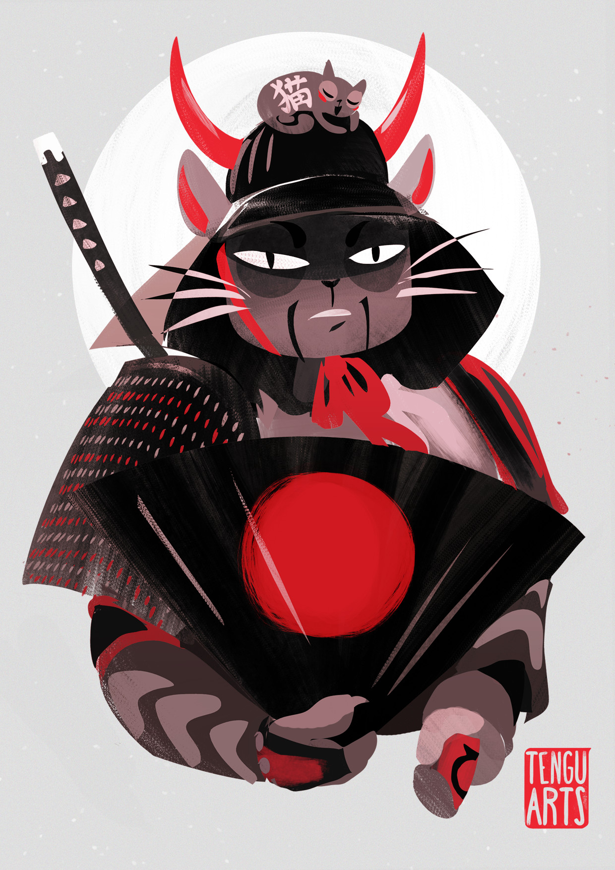 Michelle henderson samurai cat internets