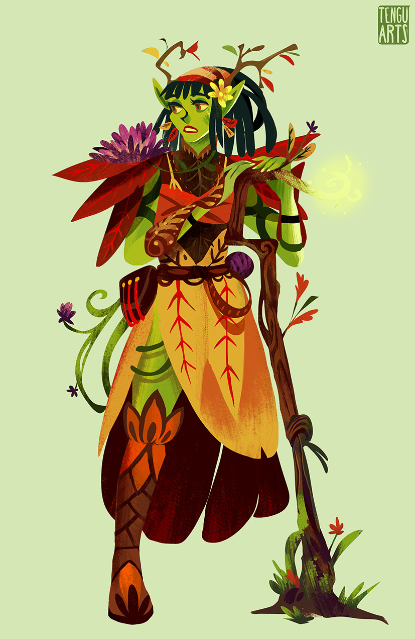 Shira the Wood Elf