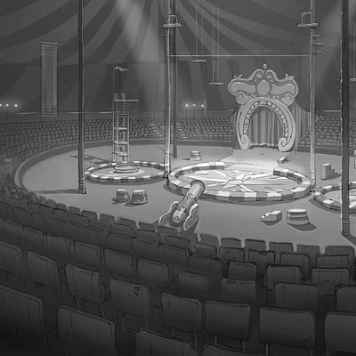 Huntington Brothers Circus Interior
