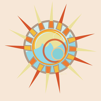 Camisha kelley 30minutes logo sun soaked