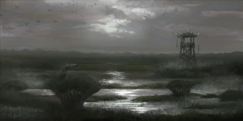 Entering orc lands