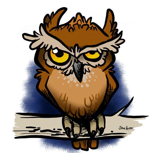 Day 21: Grumpy Owl