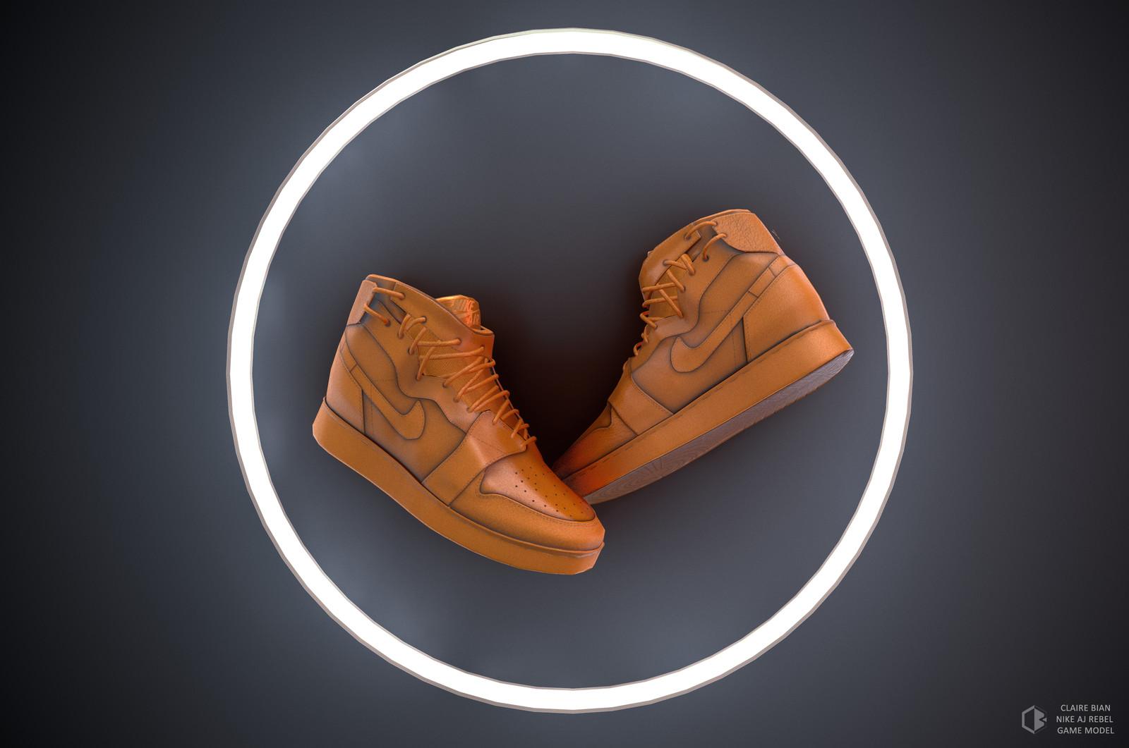 Nike Air Jordan Rebel Game Res Model