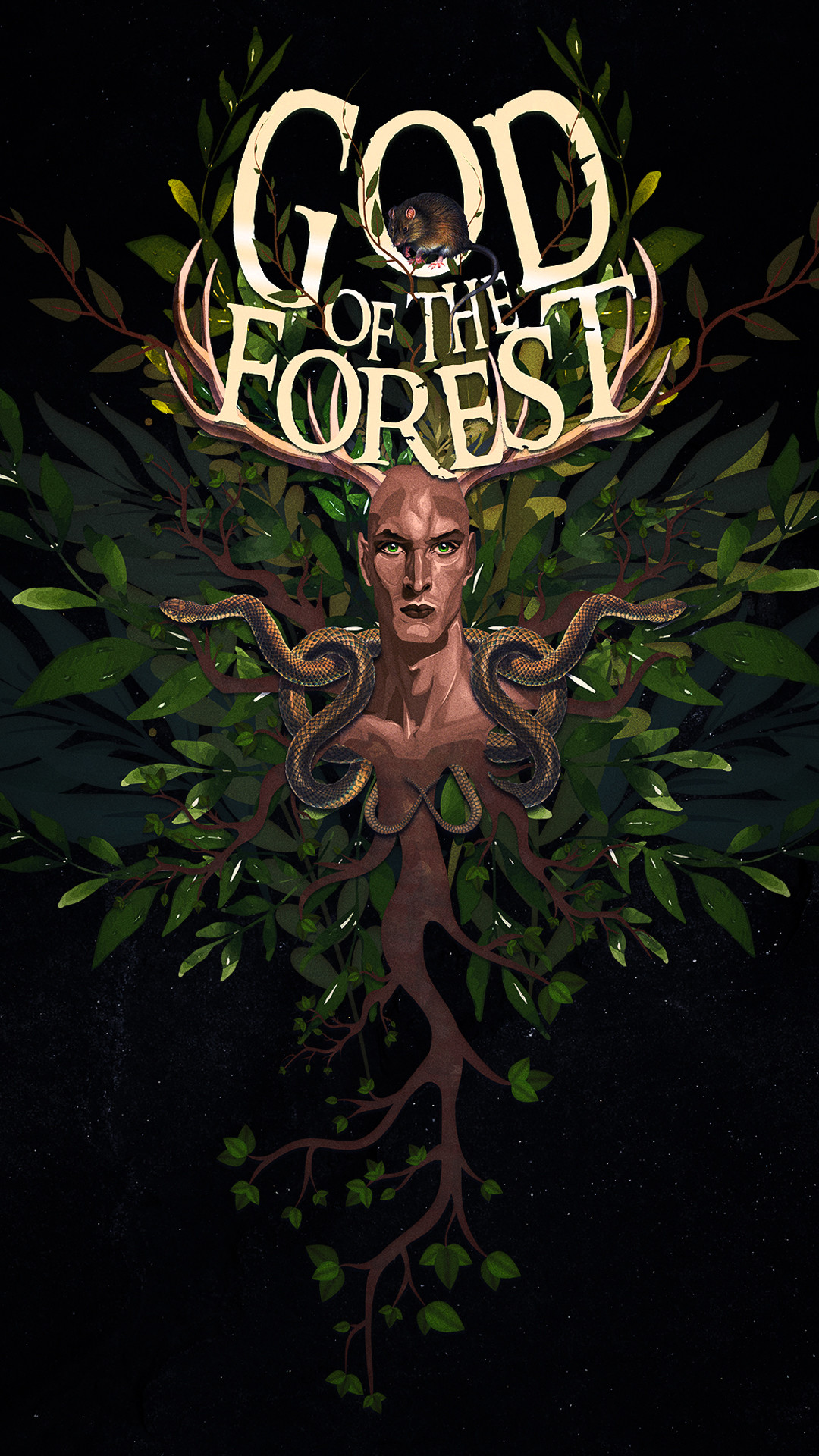 Raiyan momen god of the forest behance 2
