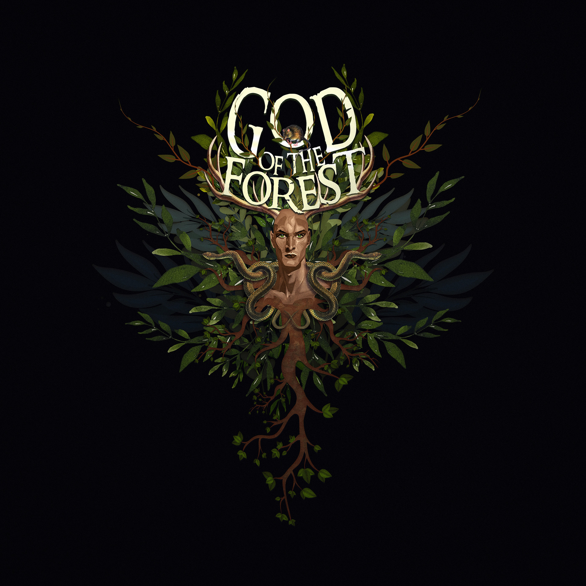 Raiyan momen new god of the forest art