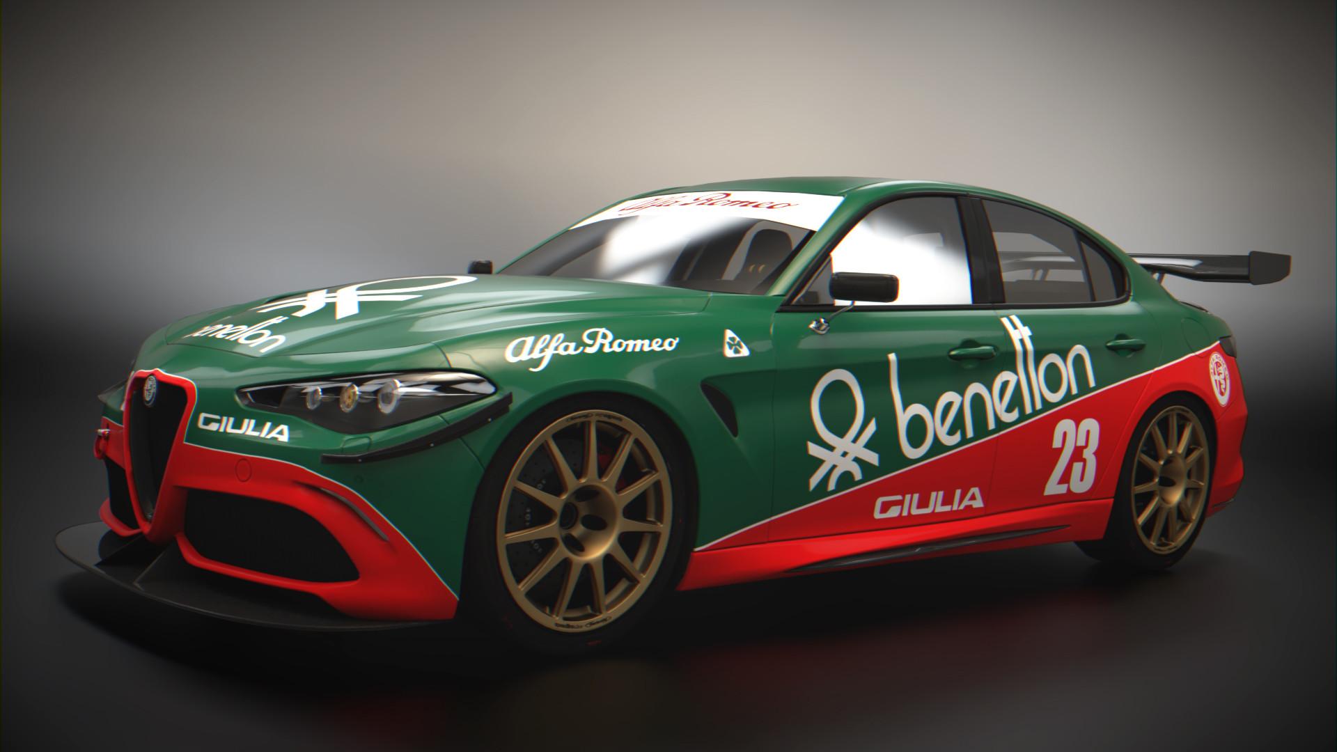 Artstation Alfa Romeo Giulia Quadrifoglio Stk Ismail Taha