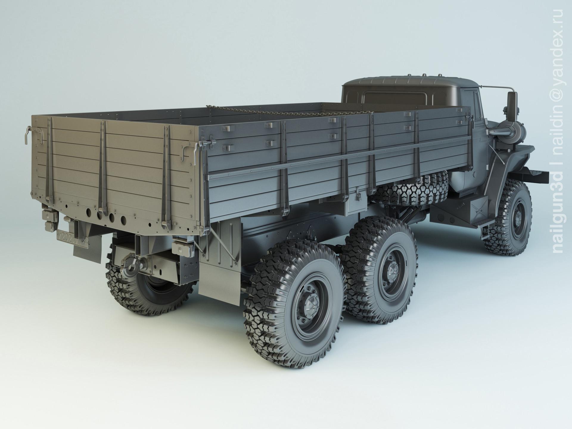Nail khusnutdinov alg 029 003 ural 43202 31 modelling 1
