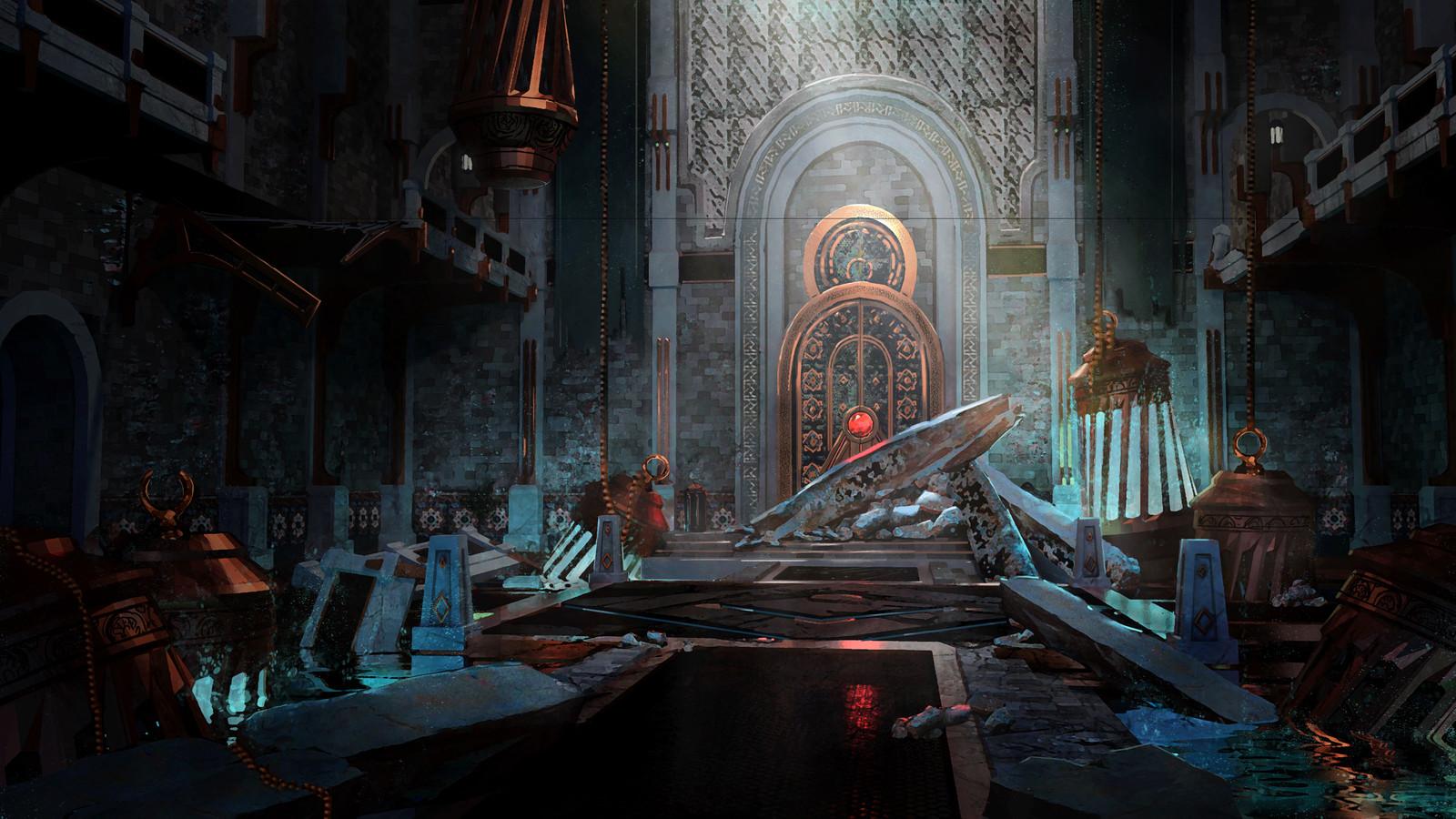Ruins - Mana Tank Chamber (CGMA w/ Ken Fairclough)