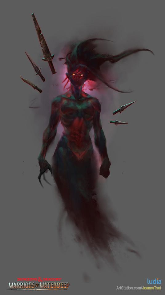 Joanna tsui dnd creature specter