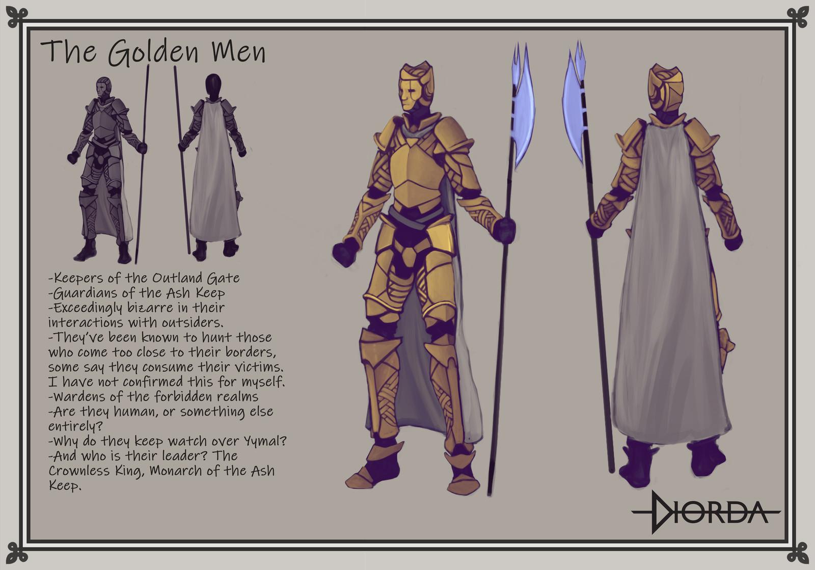 The Golden Men Concept Art