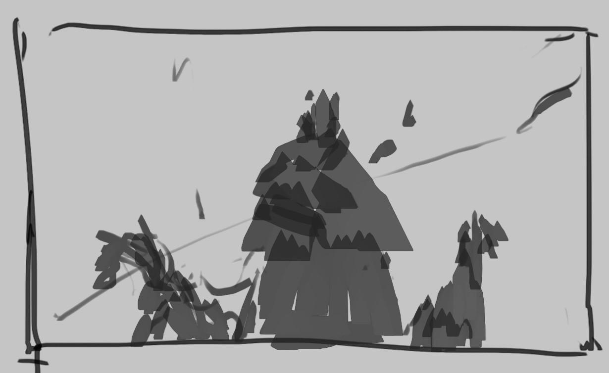 initial thumbnailsketch/idea