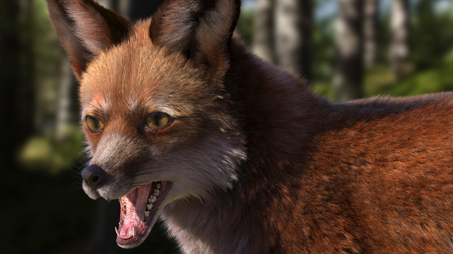 ArtStation - Red Fox (Complete), Abhijit Khanvilkar