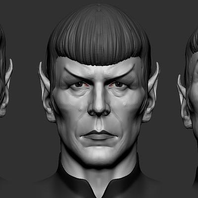 Star Trek - Spock ZBrush sculpt