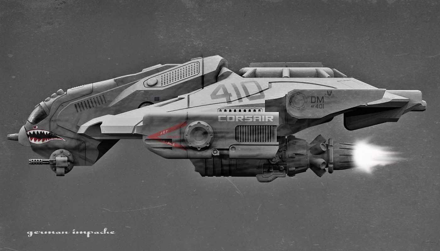 CORSAIR IIII  ground-attack aircraft