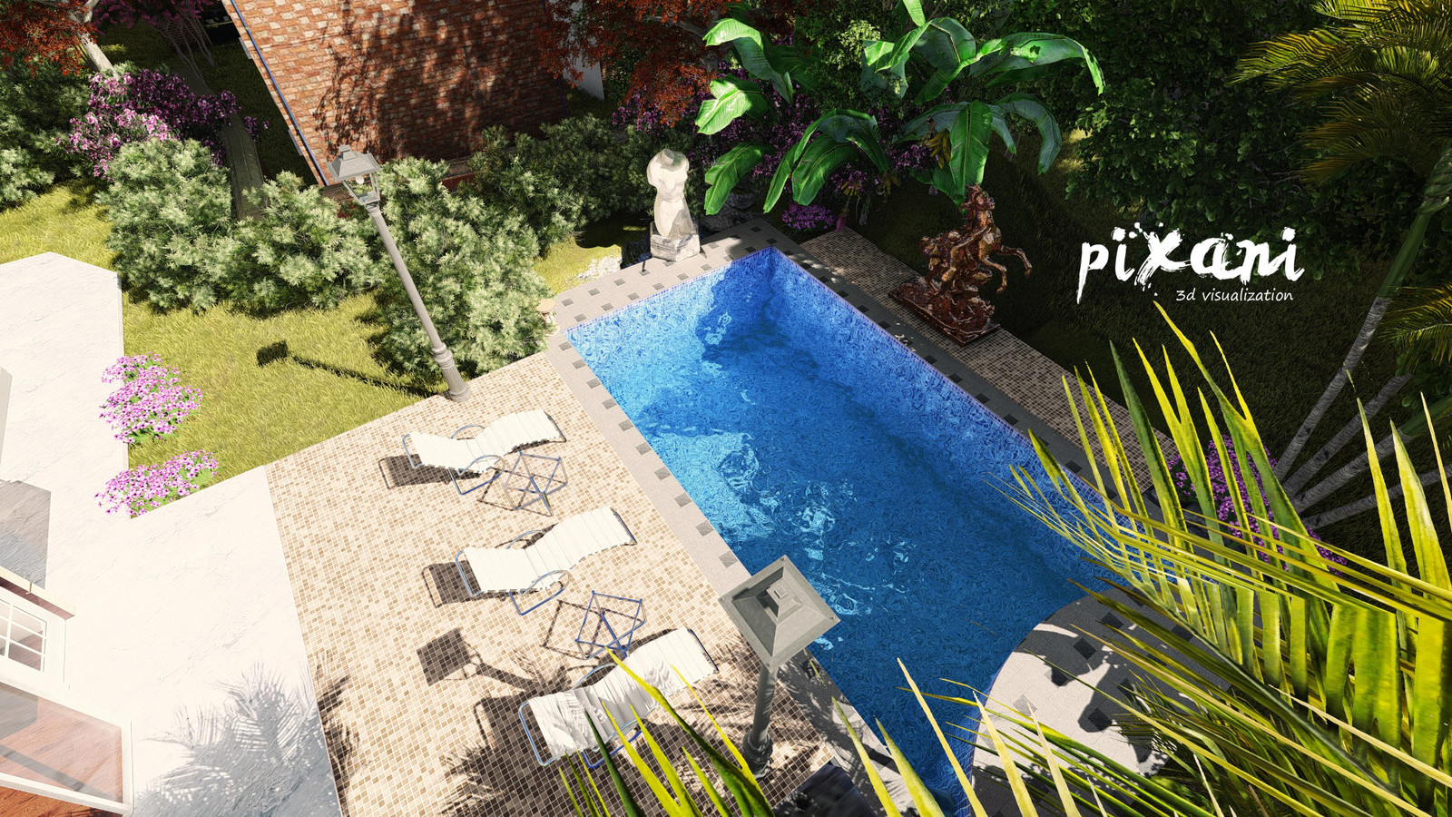 VENEND HOME  garden and pool
