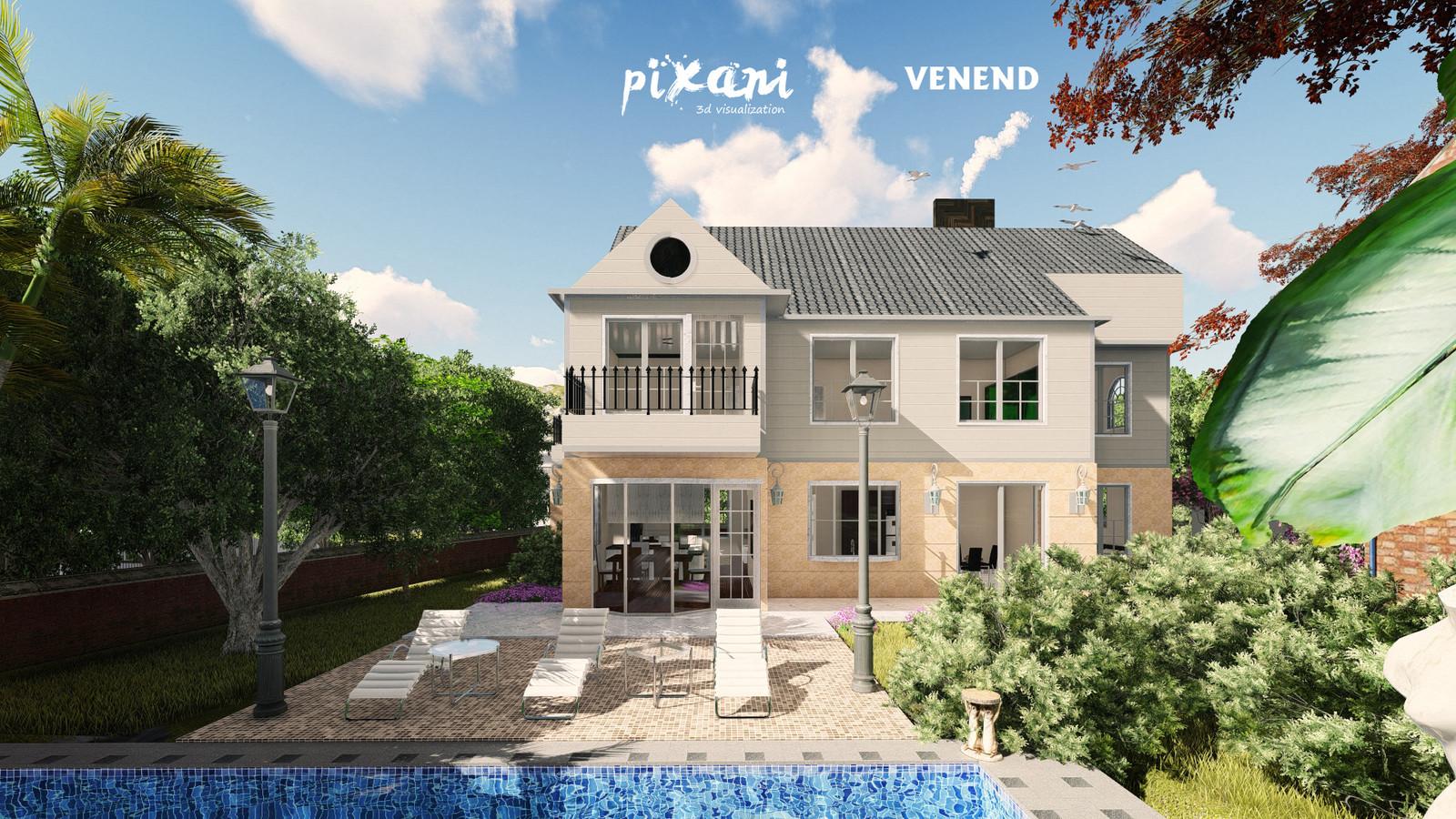 VENEND HOME PROJECT Architect & CG Artist: Serdar Çakmak  built in Naxçıvan