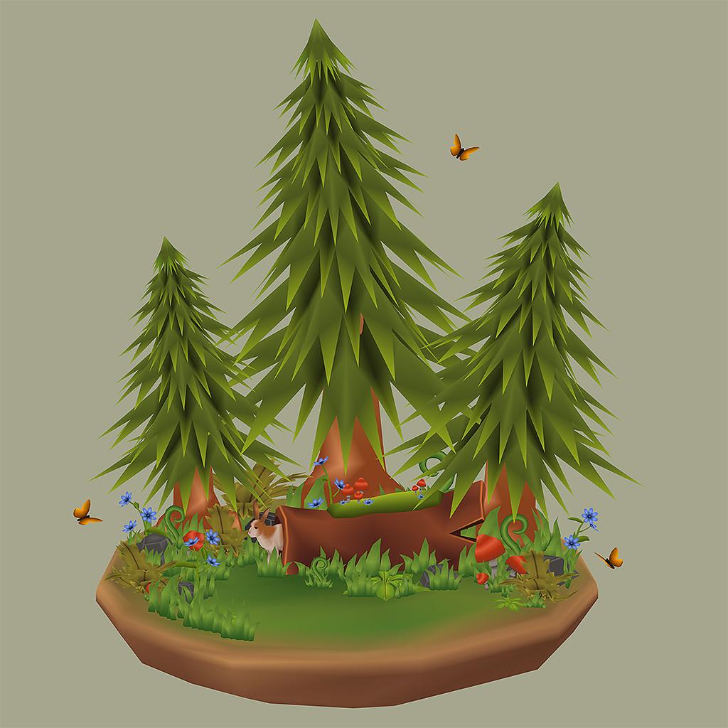 Sebastian irmer forest vertexcolor
