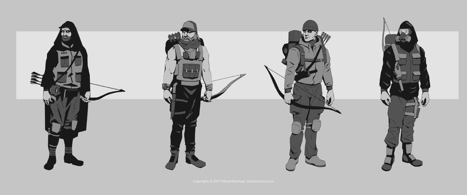 Michal rachwal michal rachwal hunter sketches3