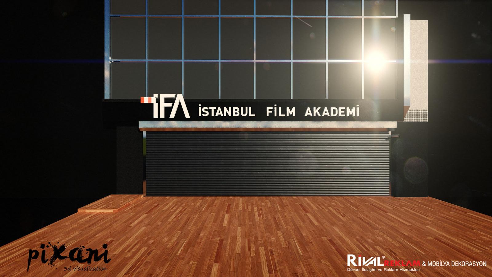 IFA exterior 3D visualization  #pixanirenders