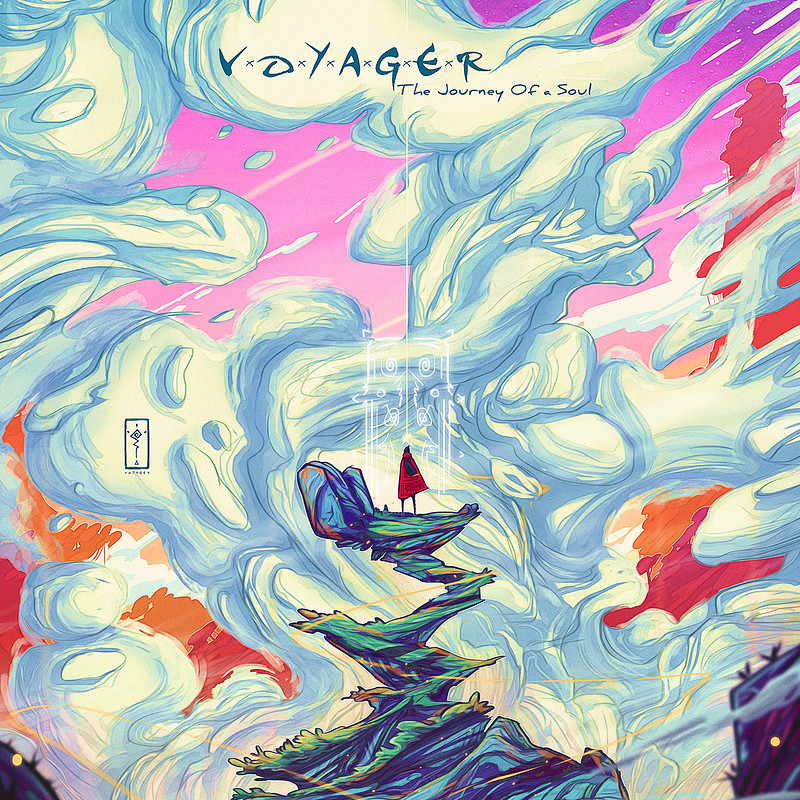 """Cover """"Voyager-The Journey Of A Soul"""""""