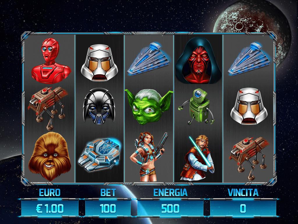 Slotopaint GameDesign - Slot machine for SALE - Star Wars
