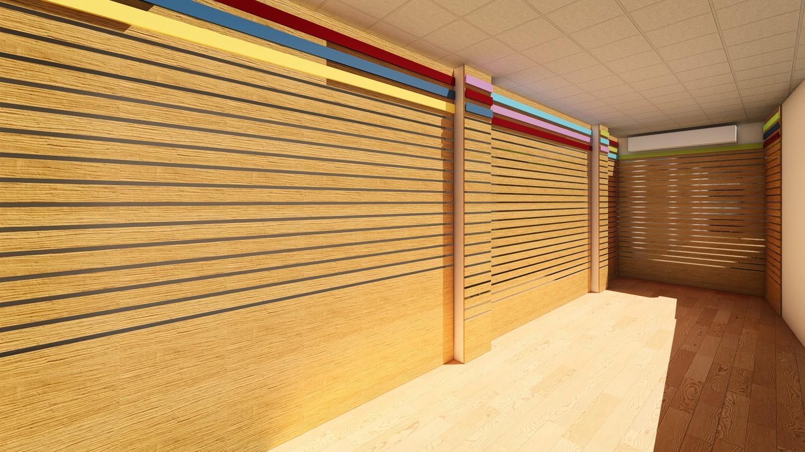 Nane-Limon Souvenir Shop interior  WALL PANELS