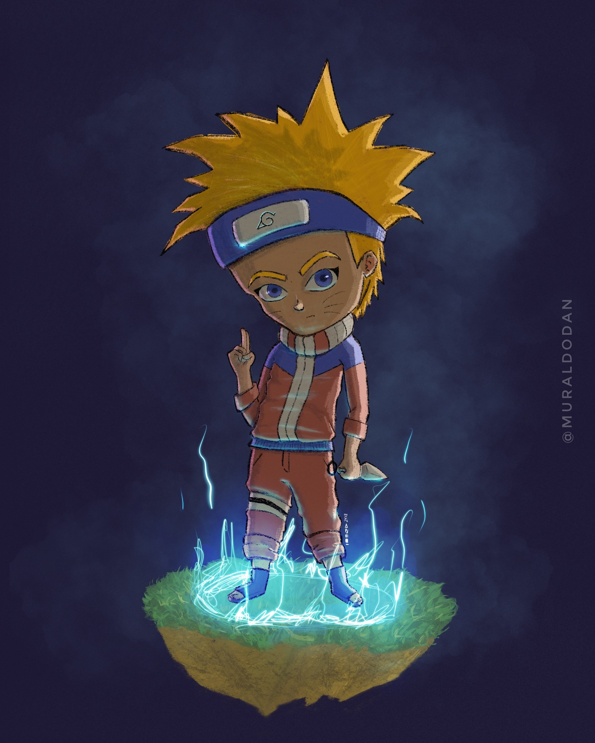 Naruto Uzumaki Fanart