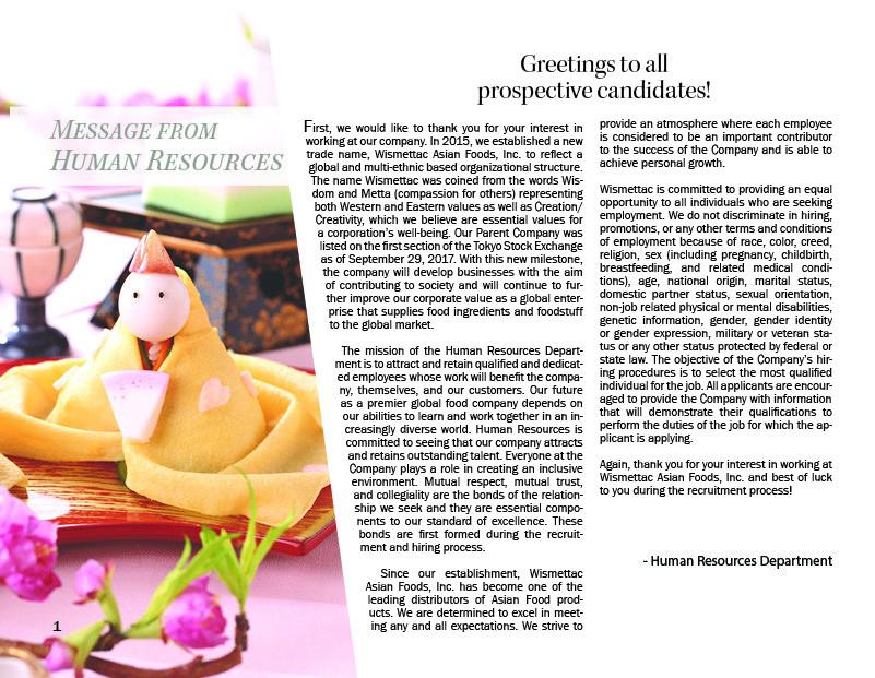 ArtStation - Wismettac Brochure Project, Cristina Koenig
