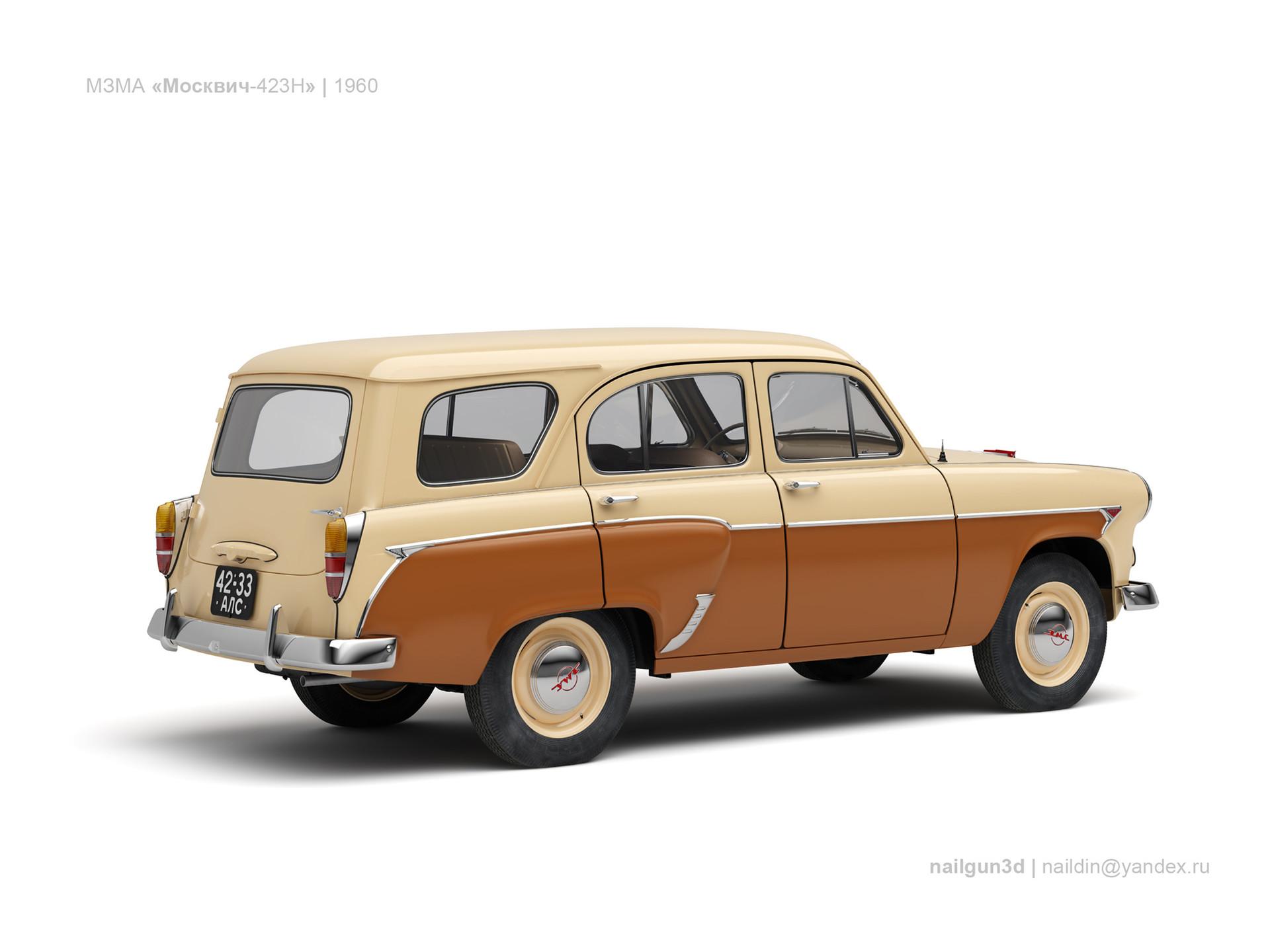 Nail khusnutdinov ussr moskvich 423n 1960 1