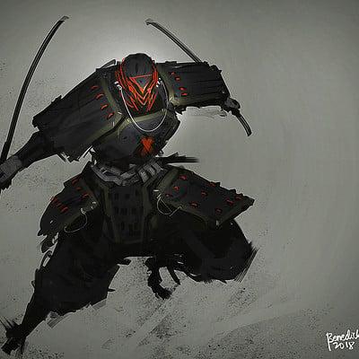 Benedick bana samurai punk2 lores2