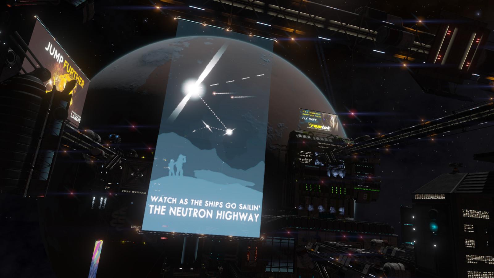 Neutron Highway, in game.