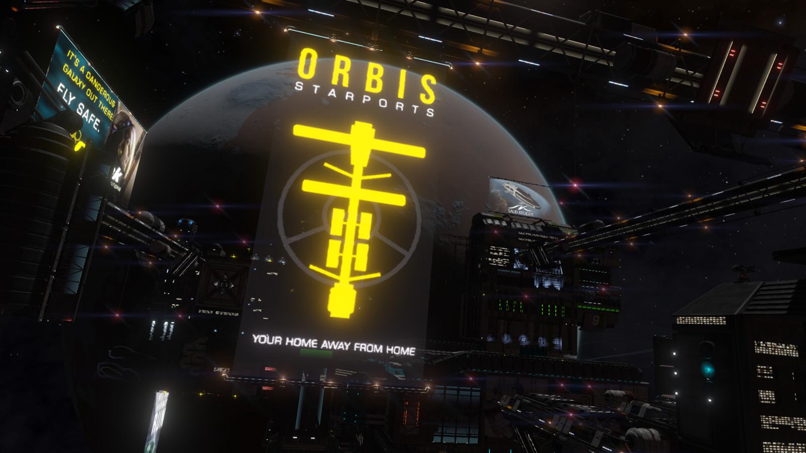 Orbis, in game.