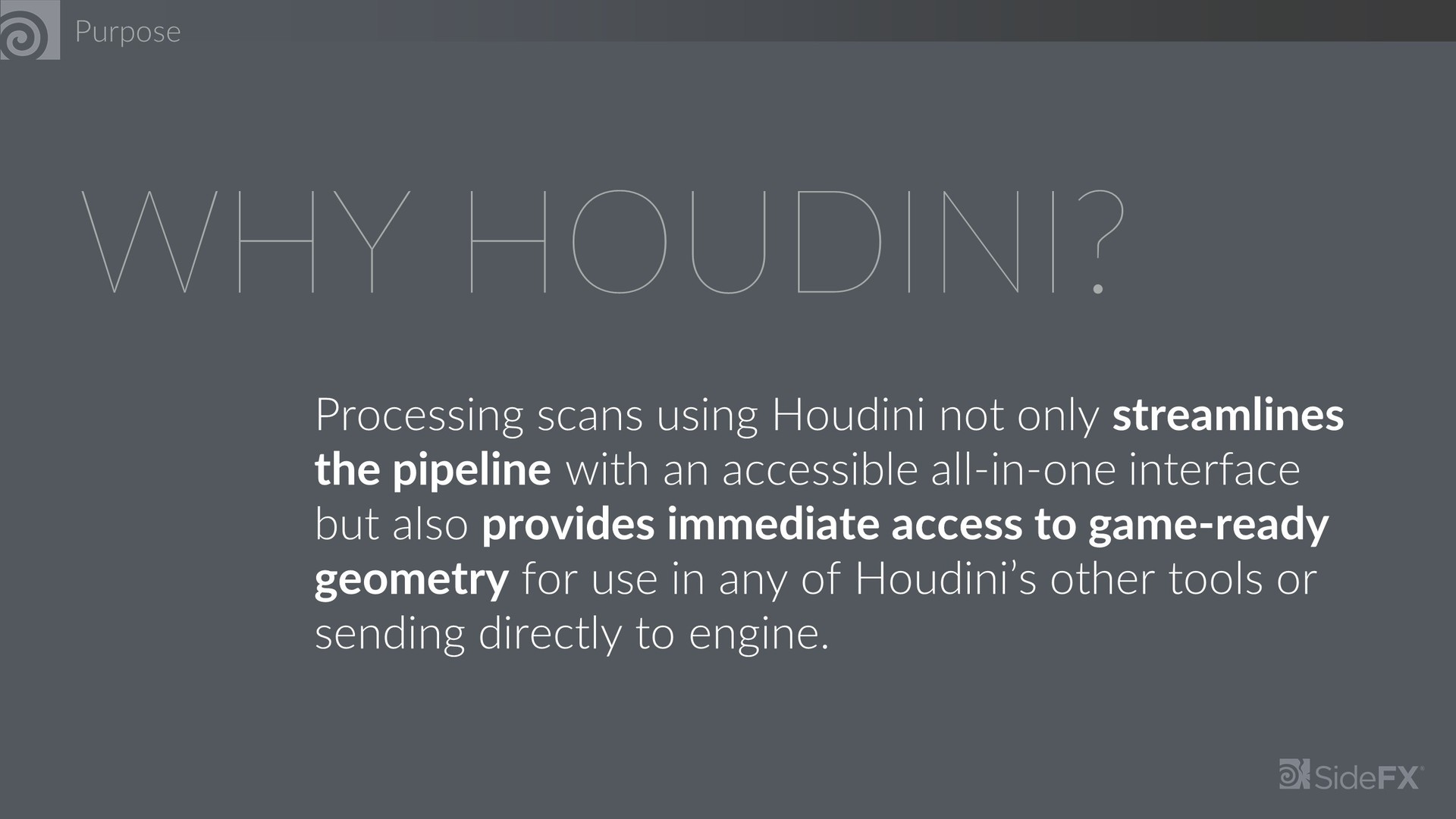 ArtStation - Houdini + RealityCapture (SideFX Internship), Georbec Ammon