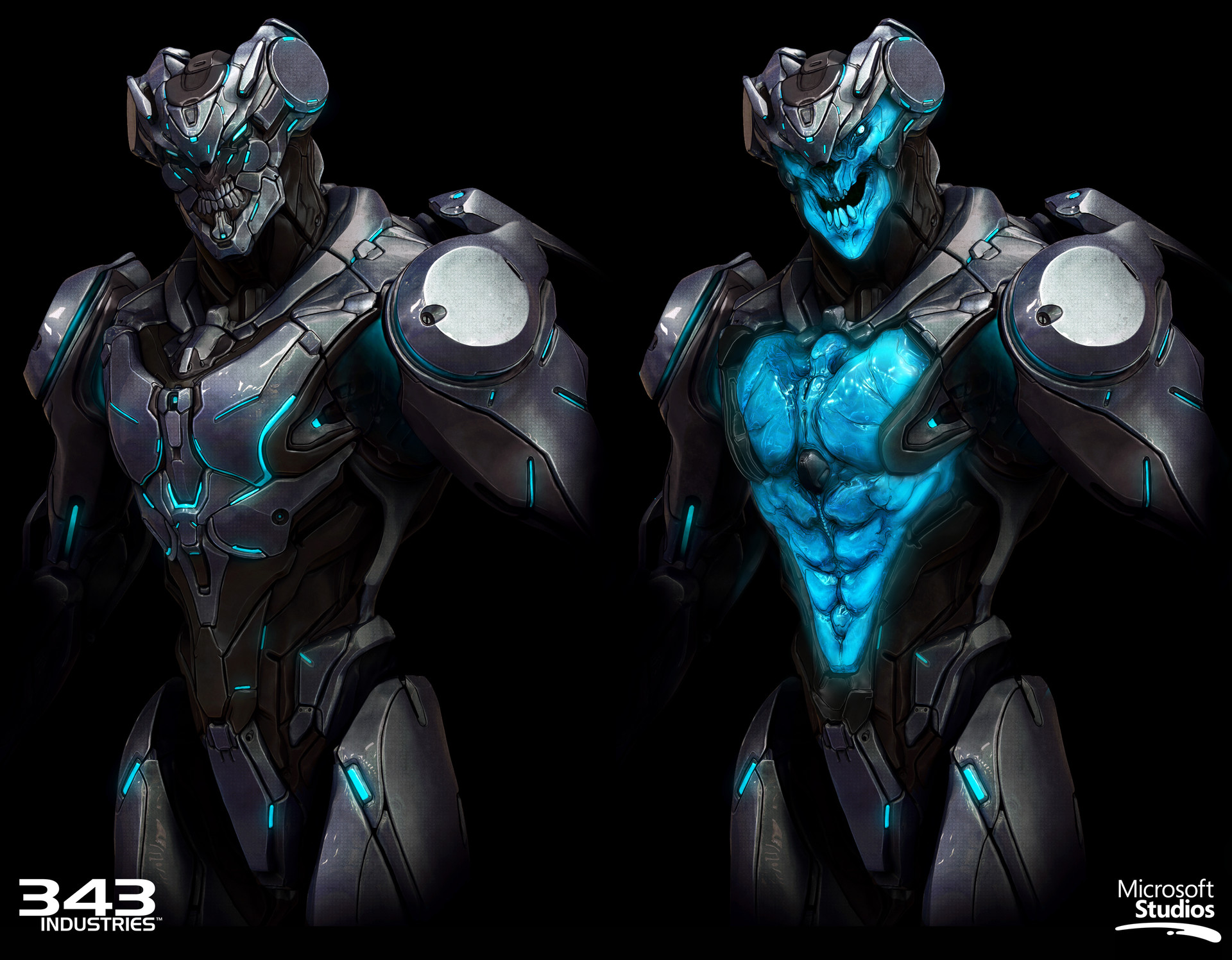Massout model & concept art (Zbrush sculpt, Keyshot render, PS paintover).