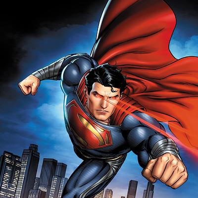 Jeremy roberts man of steel superpowers by jprart d5xdfz4