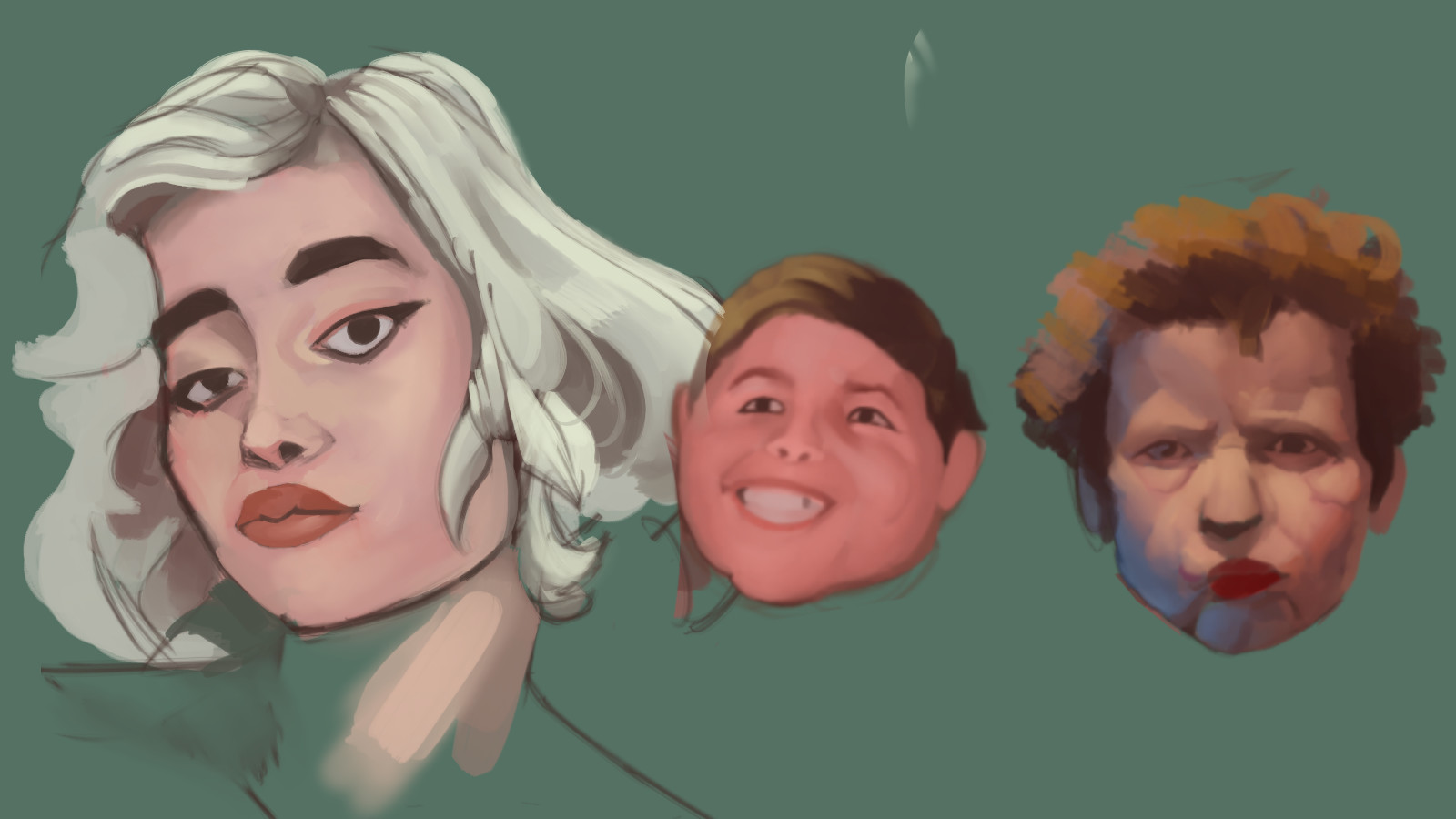 ArtStation - February 2018 Doodle and Roughs, Rhys Meredith