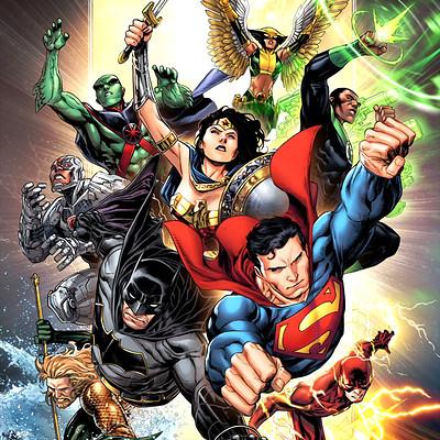 Jeremy roberts justice league by jprart dc6j3x9