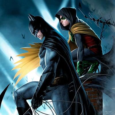 Jeremy roberts batman robin by jprart d9srcd5