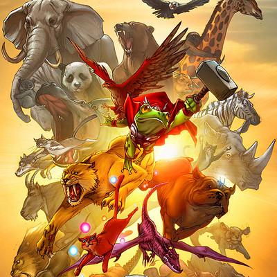 Jeremy roberts pet avengers cover