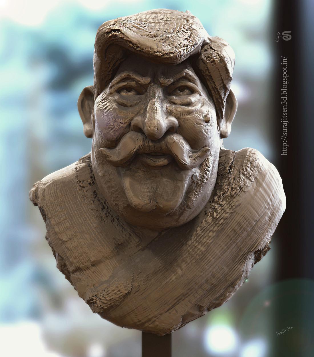 Surajit sen hex sir quick sculpt by surajitsen