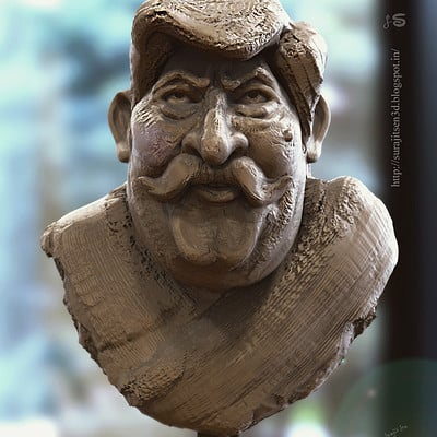 Surajit sen hex sir quick sculpt by surajitsen