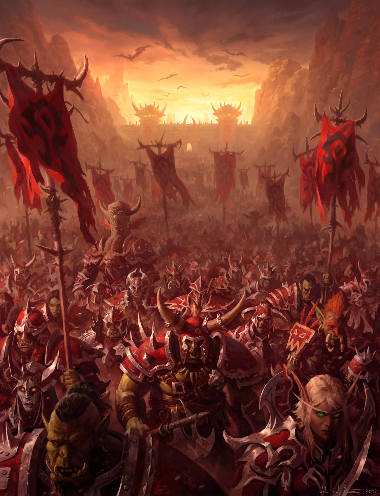 The Horde - WoW: Battle for Azeroth