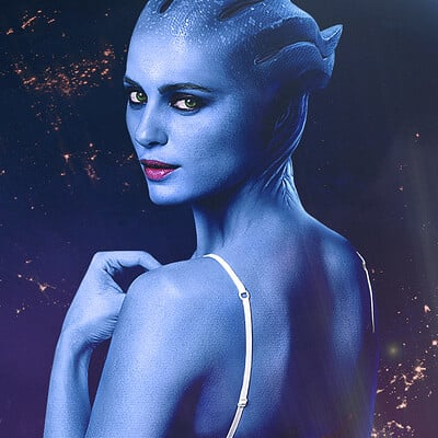 Alexander krasnov asari photo manipulation 3 wallpaper