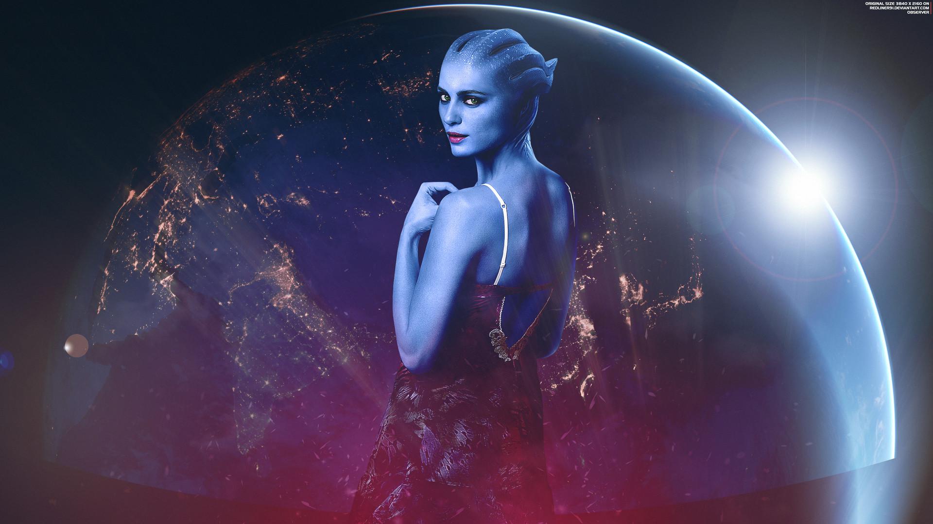 Observer - Mass Effect Wallpaper 4K