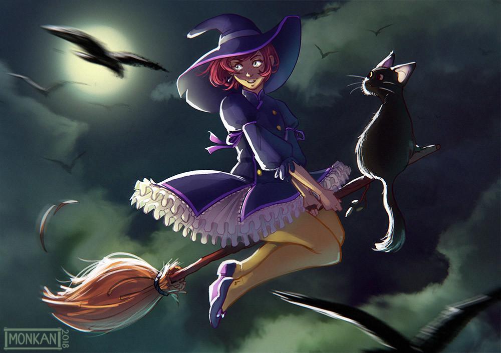 Monika mikucka witch3