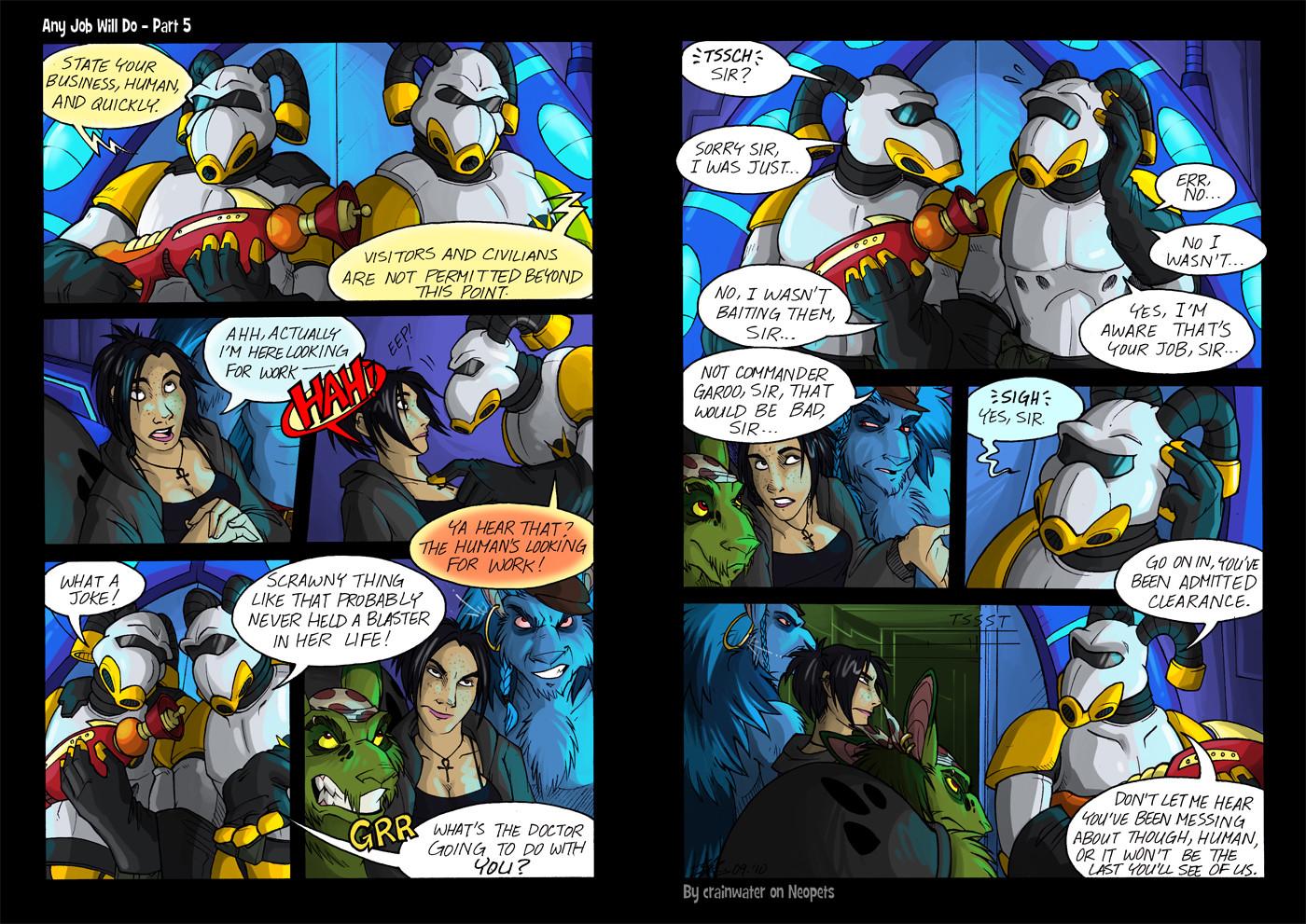 Any Job Will Do: Page 05 (2011)