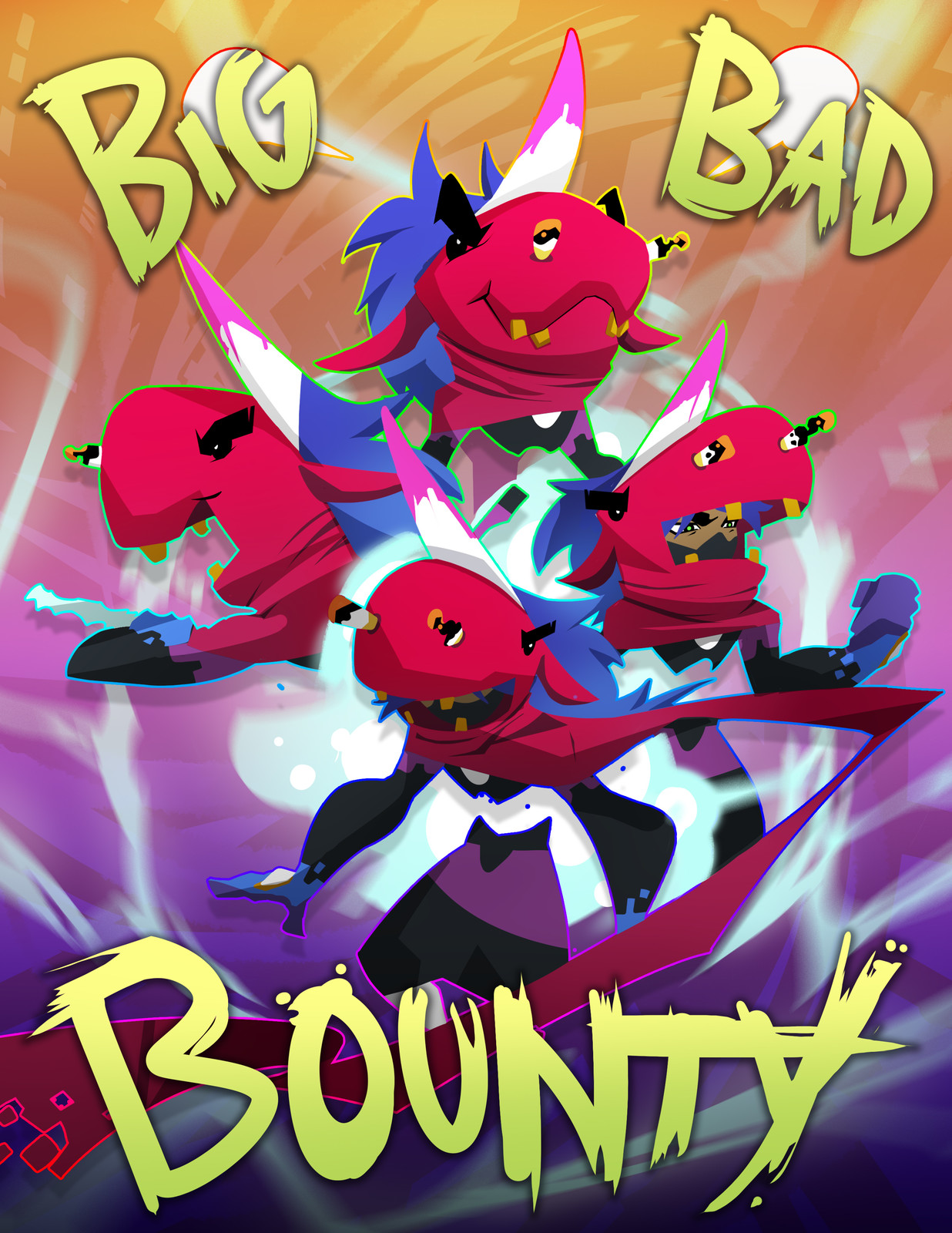 Big Bad Bounty Promo Piece
