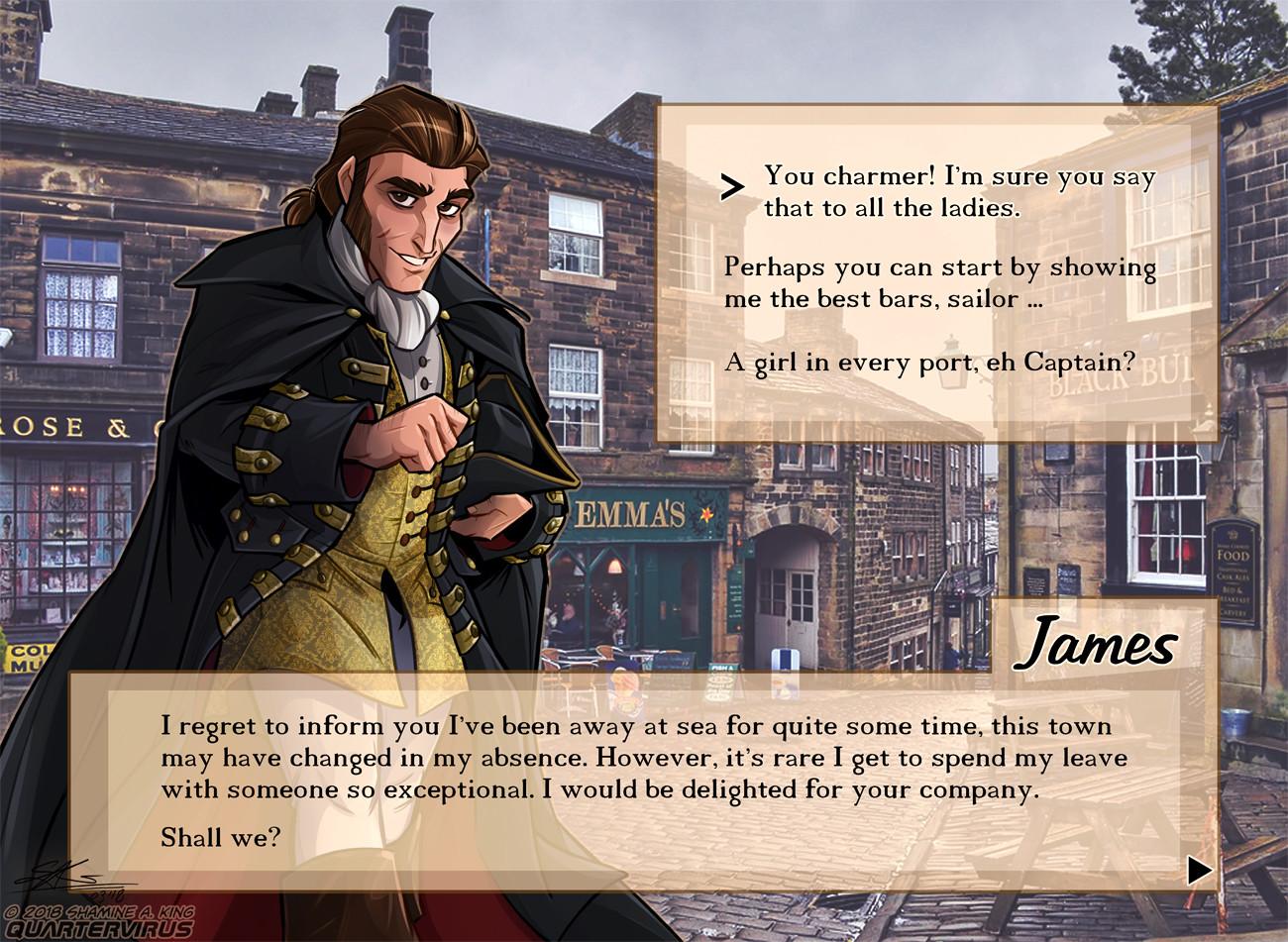 Dating Simulator: James Edition