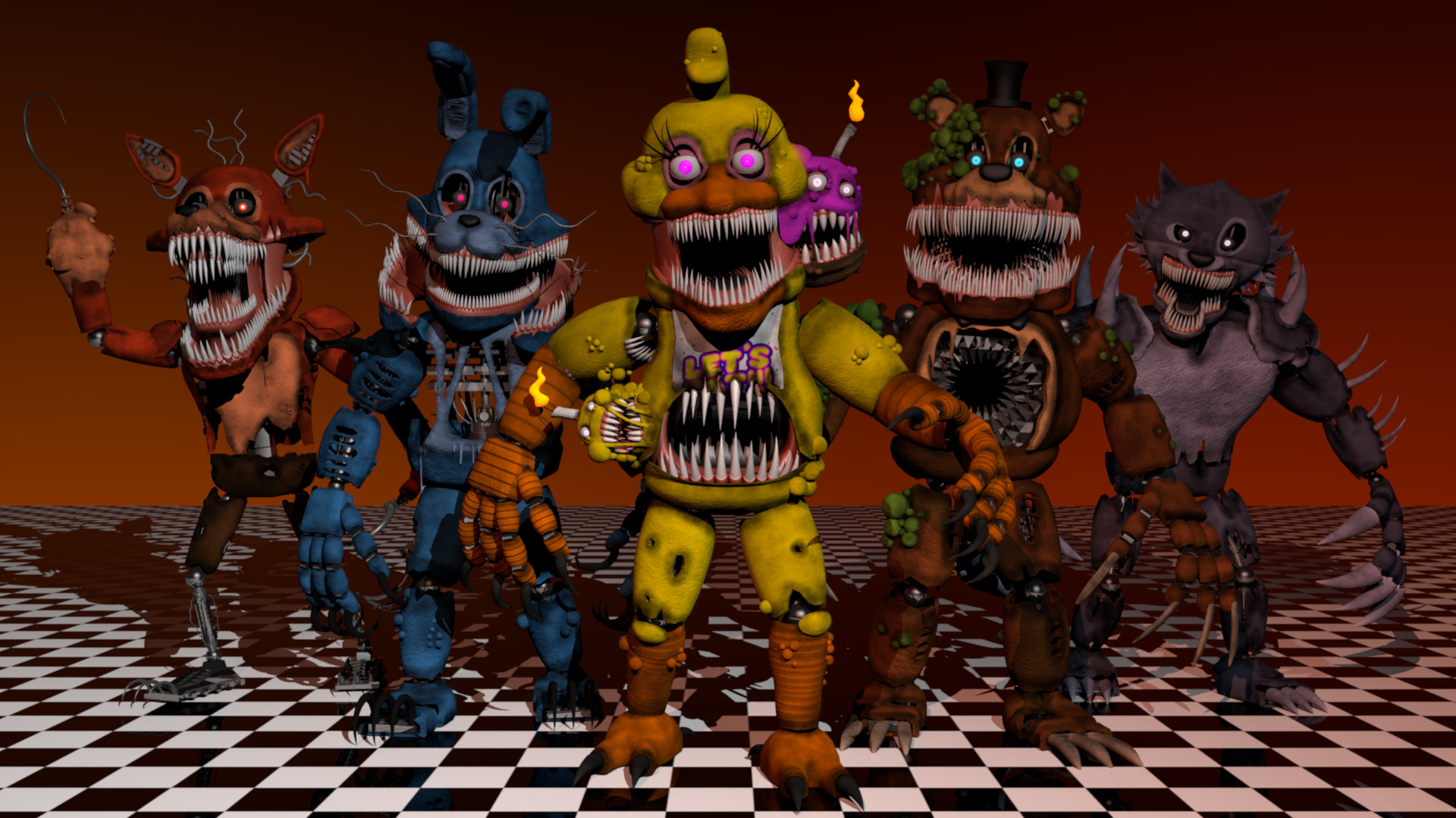 Thomas Honeybell - Five Nights at Freddy's: The Twisted Ones fan