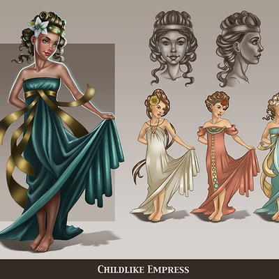 Never Ending Story Concept Redesign - Childlike Empress